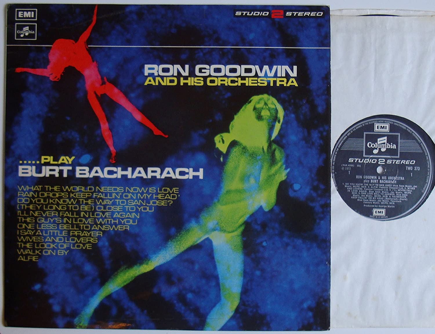 Ron Goodwin And His Orchestra - Play Burt Bacharach - 12