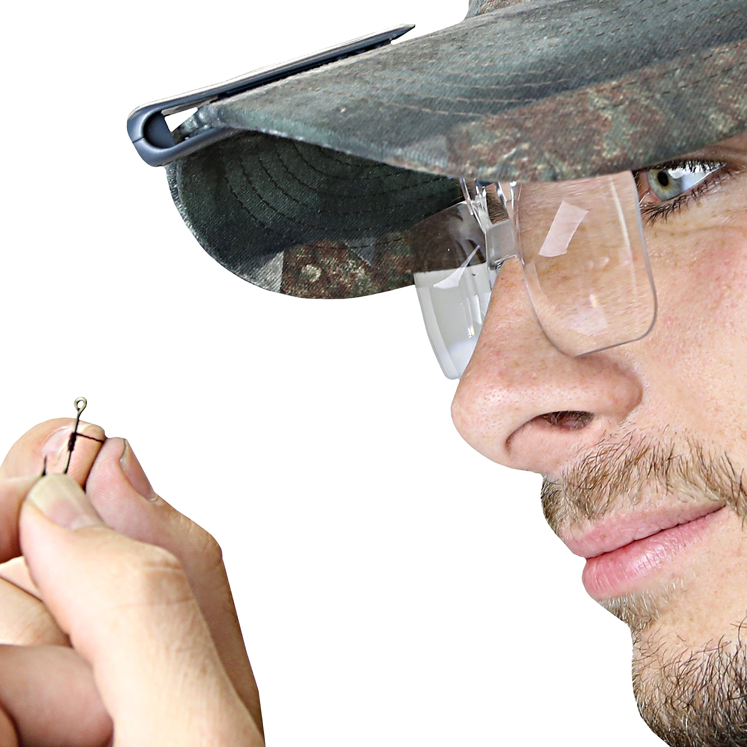 Carson Optical VisorMag 1.75x Power (+3.00 Diopters) Clip-On Magnifying Lens for Hats VM-10 by Carson (Image #6)