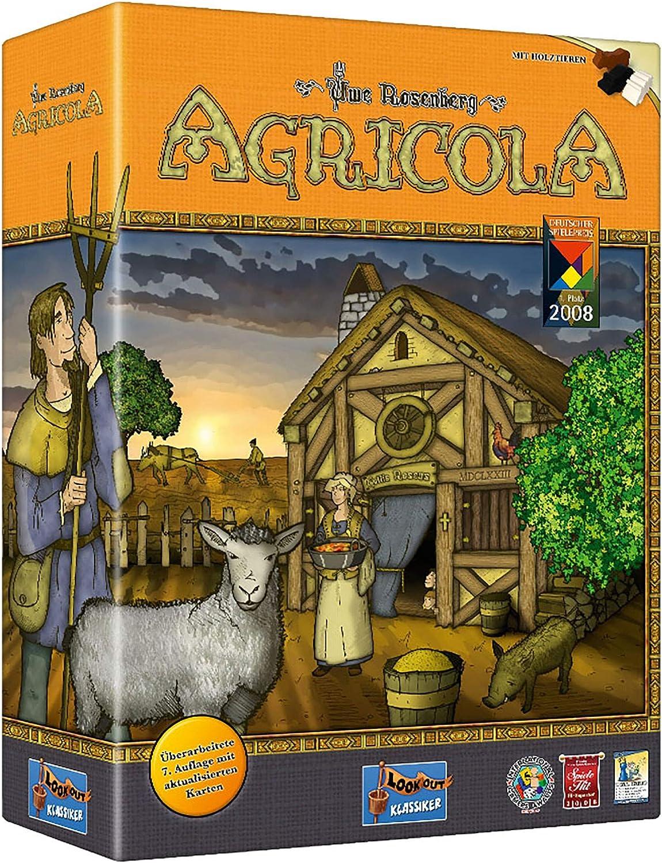 Agricola (edición revisada)   30-120 Minutos   Juego de Mesa de Trabajo: Amazon.es: Juguetes y juegos