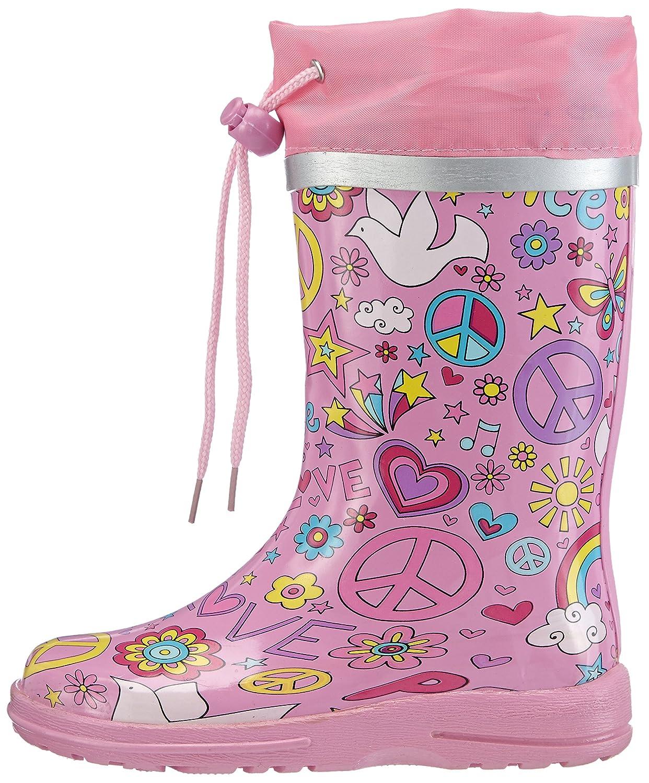Beck Peace - Botas de goma de goma niña: Amazon.es: Zapatos y complementos