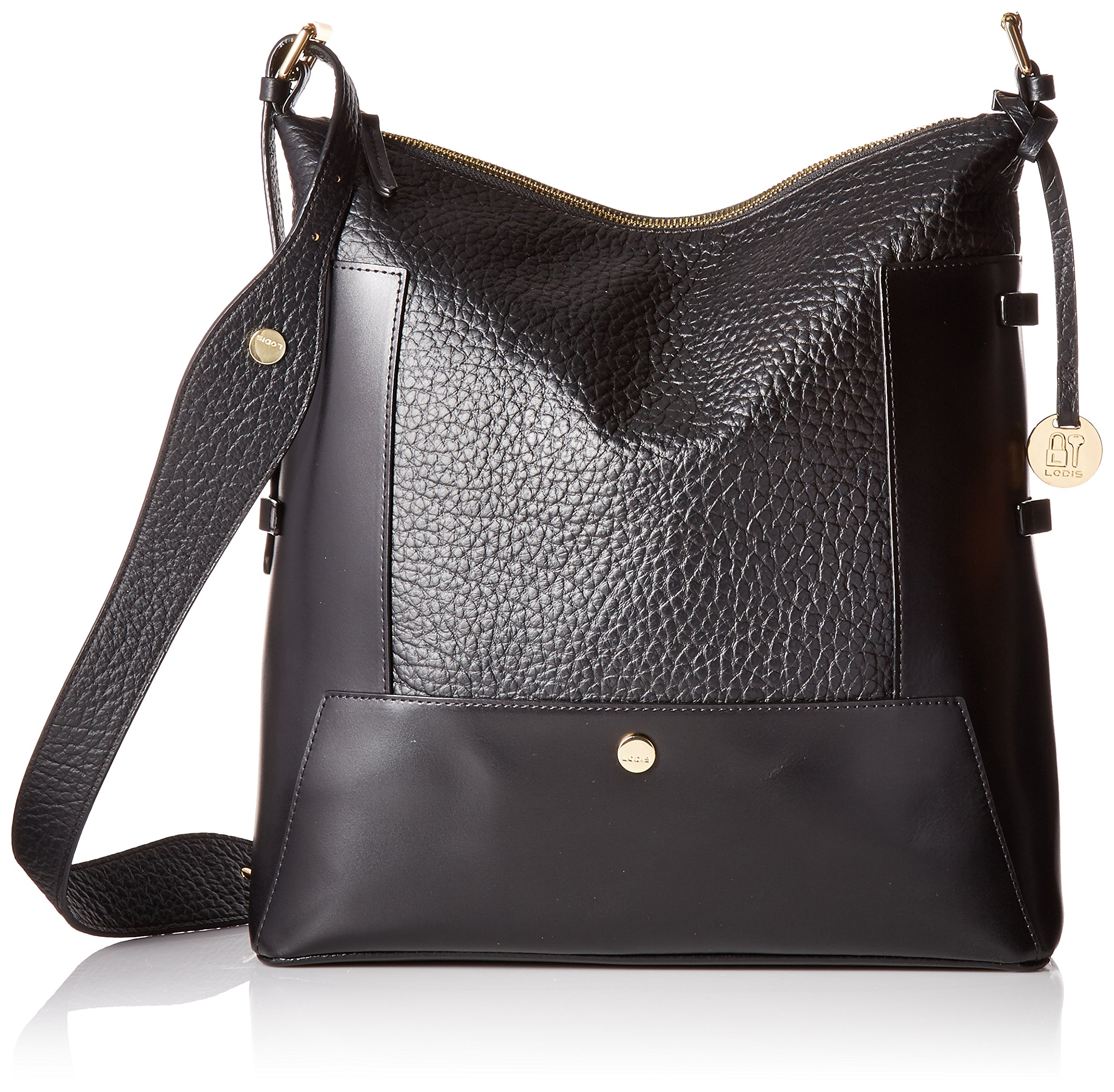 Lodis in the Mix Rfid Emerson Hobo, Jet by Lodis