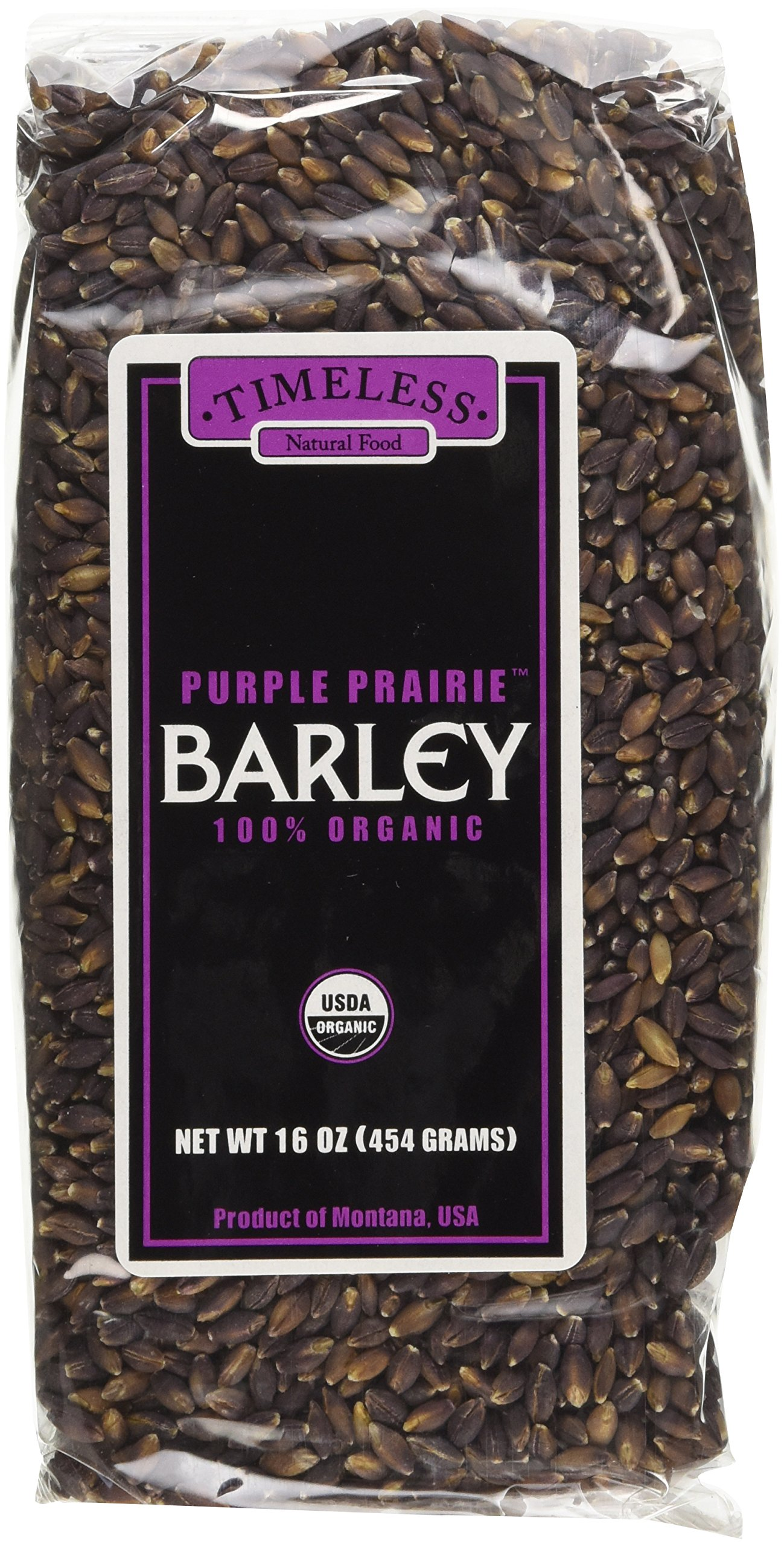 Timeless, Timeless Barley Purple Prairie, 16 Ounce by Timeless