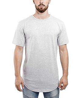 Blackskies Oversize Round T-Shirt Herren Longshirt Long Tee - Langes Shirt  S,M 87a2e56aa8