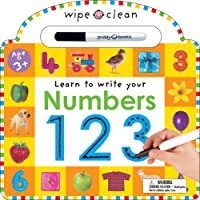 Wipe Clean: Numbers (Wipe Clean Learning Books)