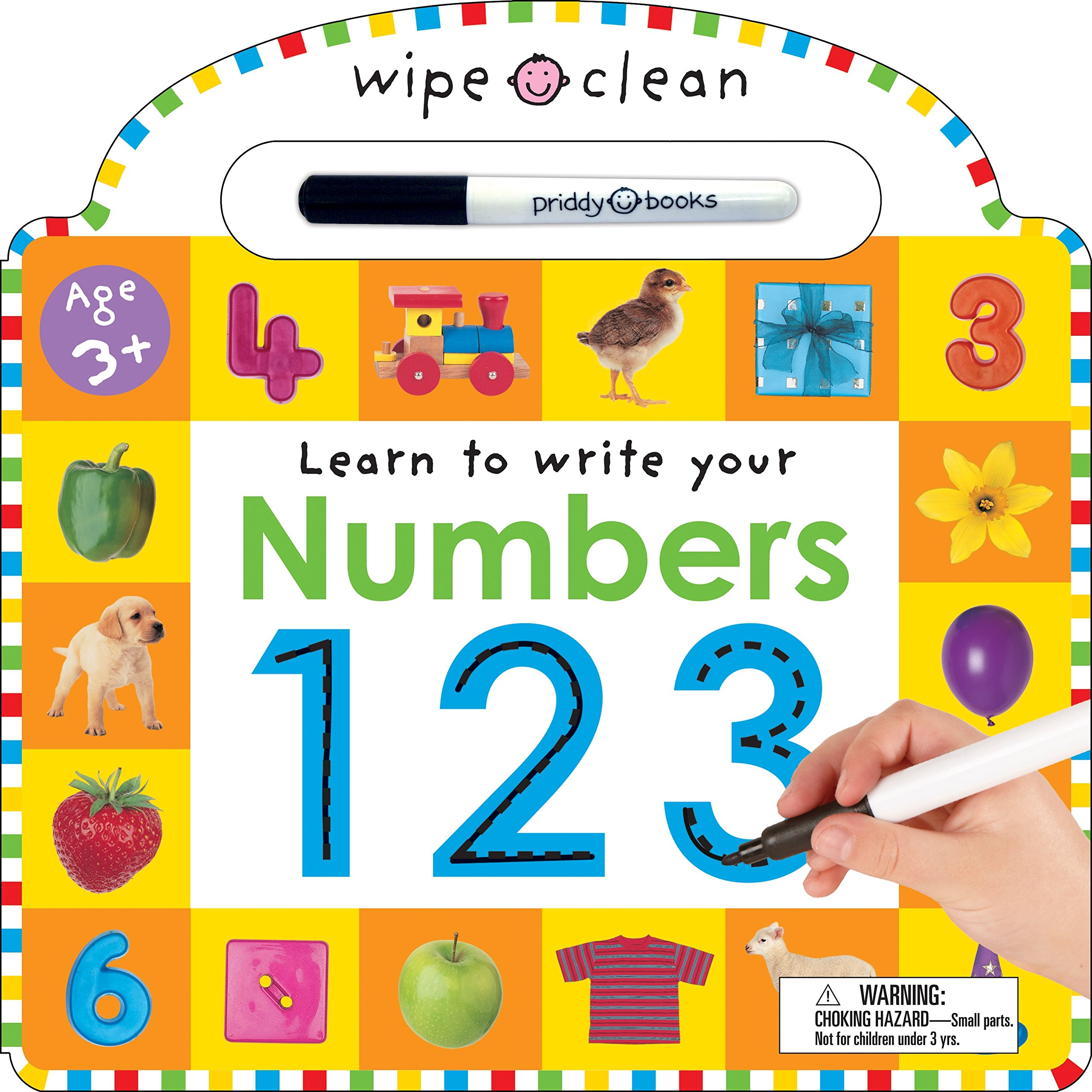 Wipe Clean Numbers Learning Books product image