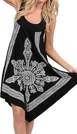Crochet Casual Dress Embroidery Summer Beach Handkerchief