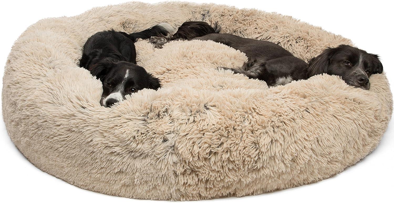 Best Friends by Sheri Calming Shag Vegan Fur Donut Cuddler Multiple Sizes
