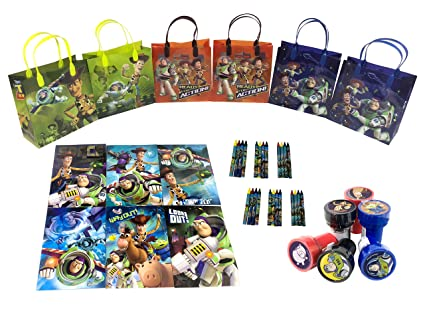Disney Toy Story Party Favor Set - 6 Packs (42 Pcs) by ...