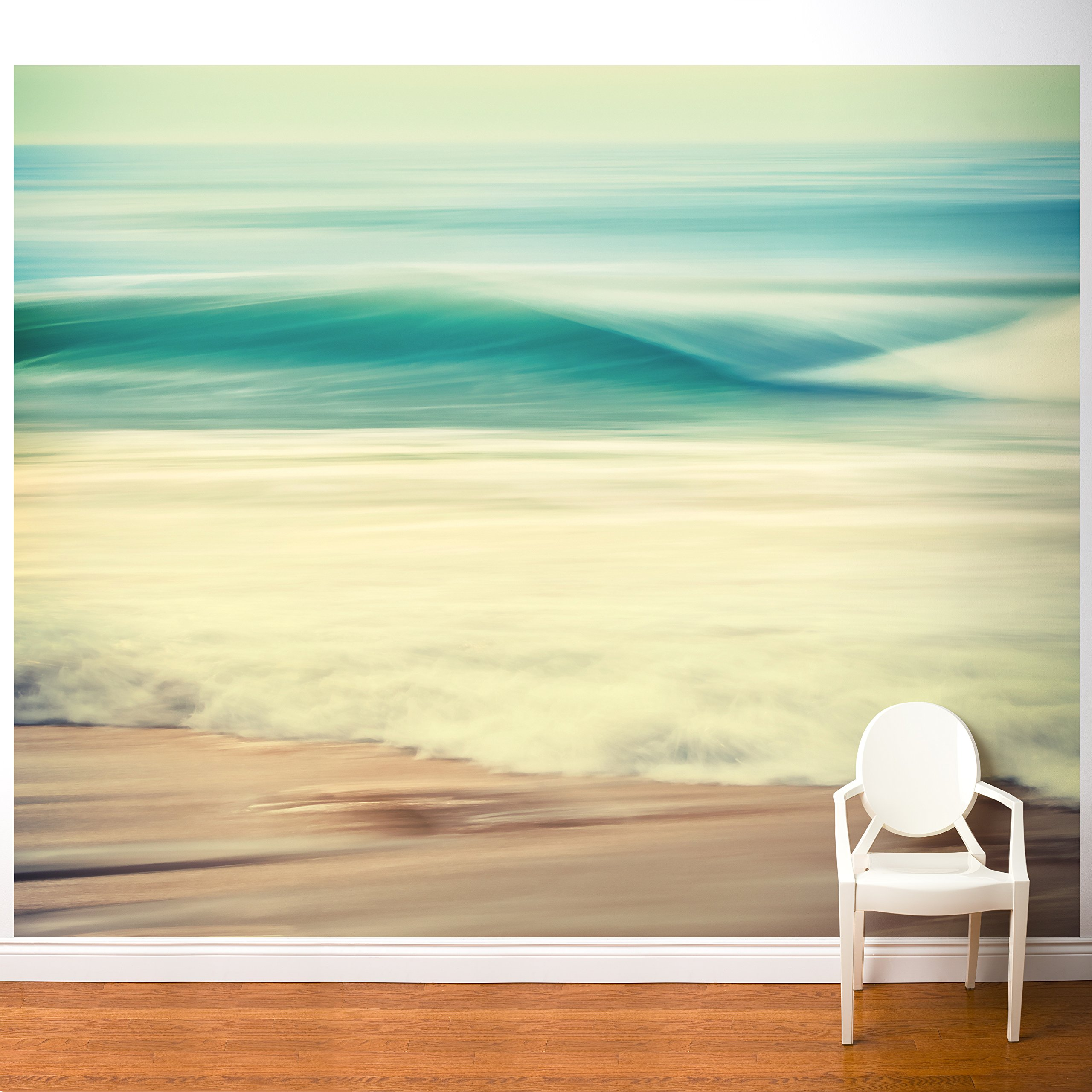 Adzif''Salty Wave Wall Mural Multicolored by Adzif (Image #1)