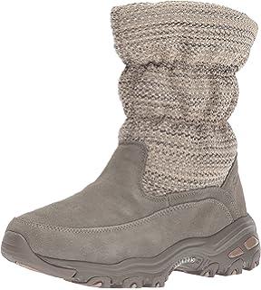 02213bd03ab Amazon.com | Skechers Women's Alaska Snow Boot | Snow Boots