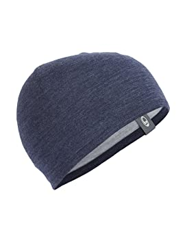 968e7844f4c Icebreaker Unisex Pocket Beanie Hat - Fathom Heather Blizzard Heather