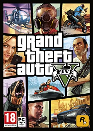 Grand Theft Auto V (PC): GTA V from Amazon co uk: PC & Video Games