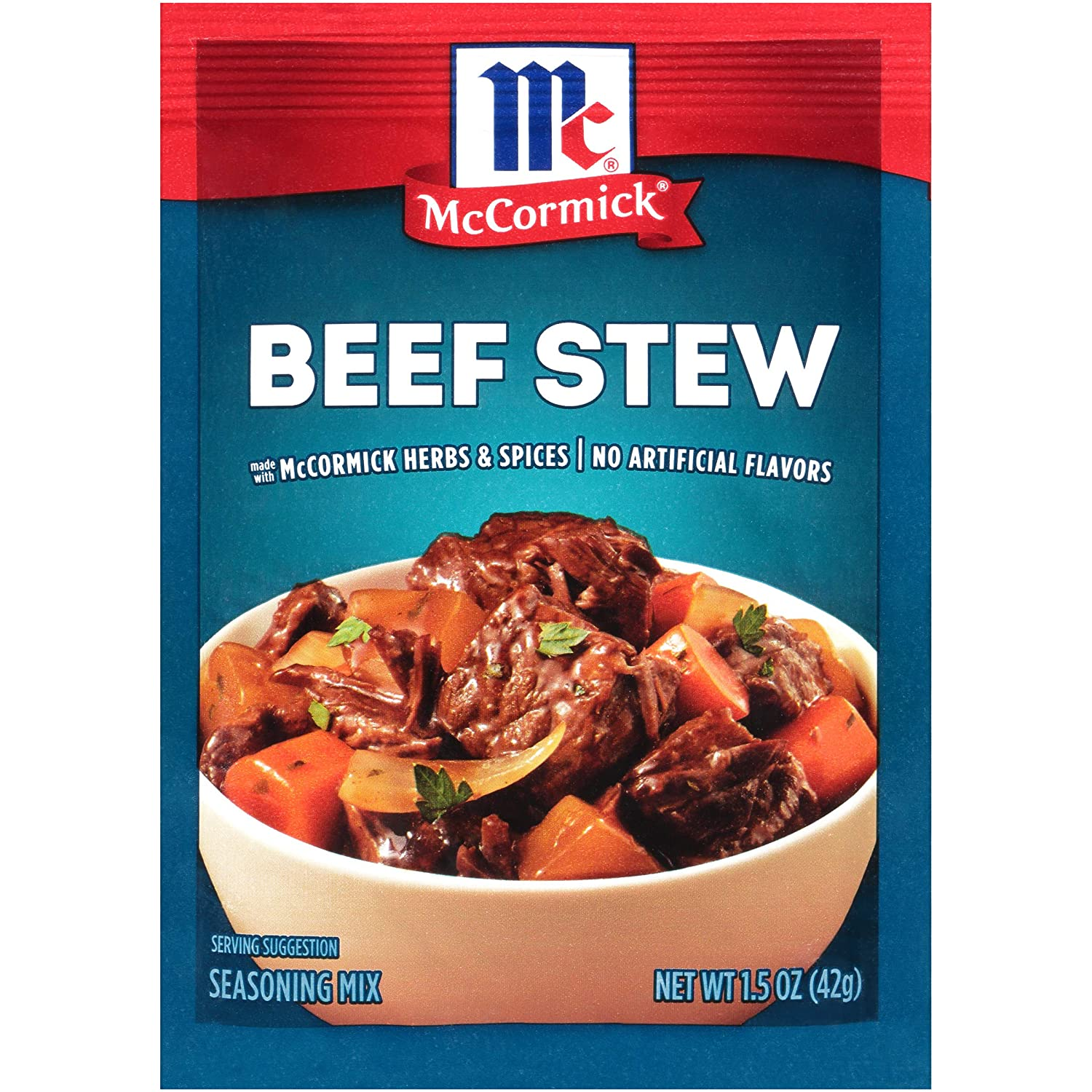 McCormick Classic Beef Stew Seasoning Mix Packet, 1.5 oz