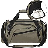 SIYUAN Sports Duffel Bag Water Resistant Athletic Gym Bag with Shoe Compartment S/M/L/XL(Length 15-22 Inches, 32-68L)
