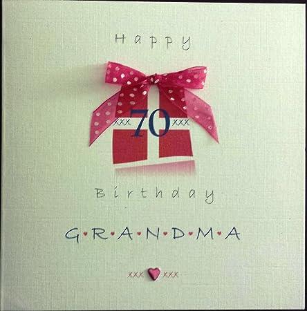 Tarjeta de cumpleaños para - de cumpleaños 70th para abuela ...