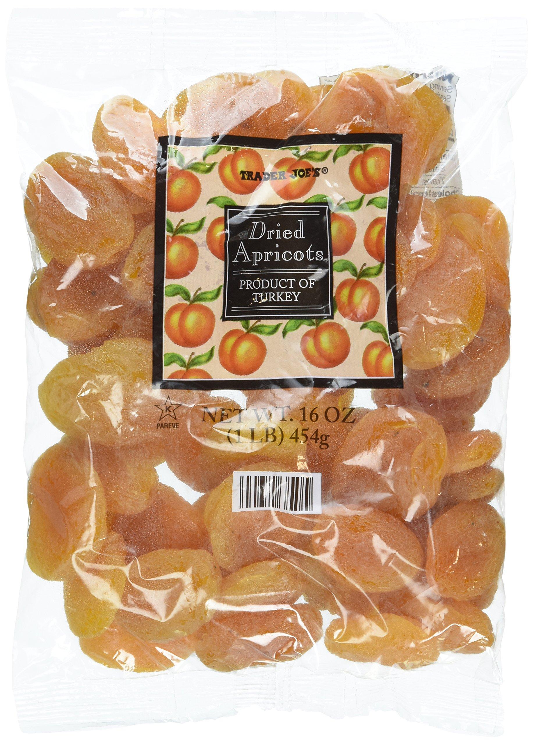 Trader Joe's Dried Apricots 1lb