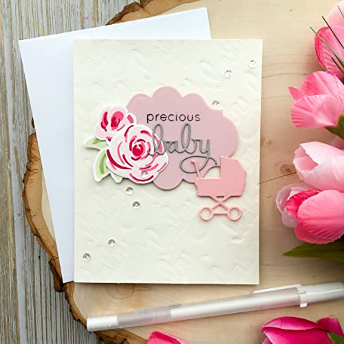 Amazon Handmade Baby Shower Card Girl Baby Shower Cards Its A