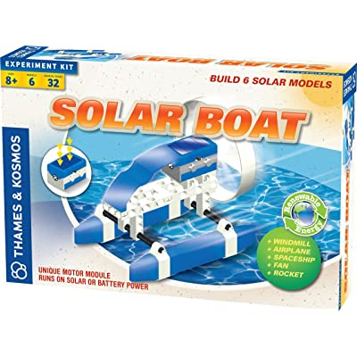 Thames and Kosmos Solar Boat Set Science Kit: Toys & Games