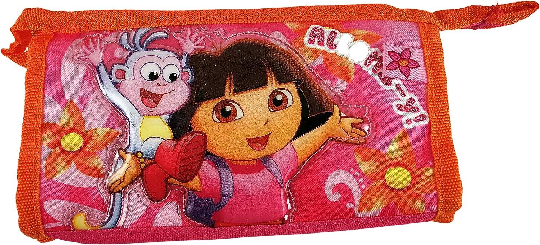 Nickelodeon Estuche colegial infantil Dora La Exploradora Rosa ...