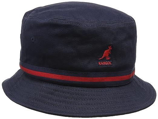5f46ca31683a7e Kangol Men's Atmos Rain Bucket Hats, Blue (Navy), Small: Amazon.co ...