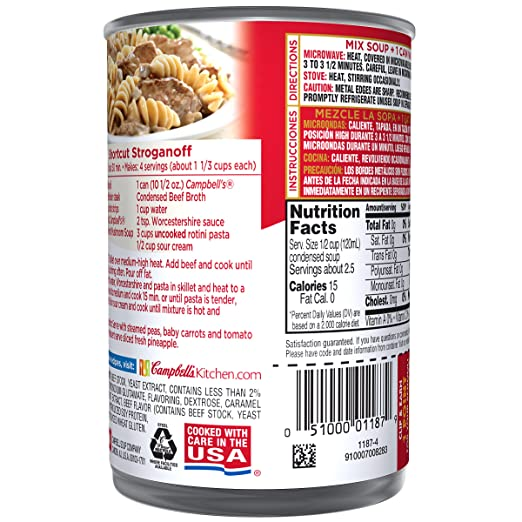 Superb Amazon.com : Campbellu0027s Condensed Soup, Beef Broth, 10.5 Ounce (Pack Of 12)  : Packaged Beef Soups : Grocery U0026 Gourmet Food