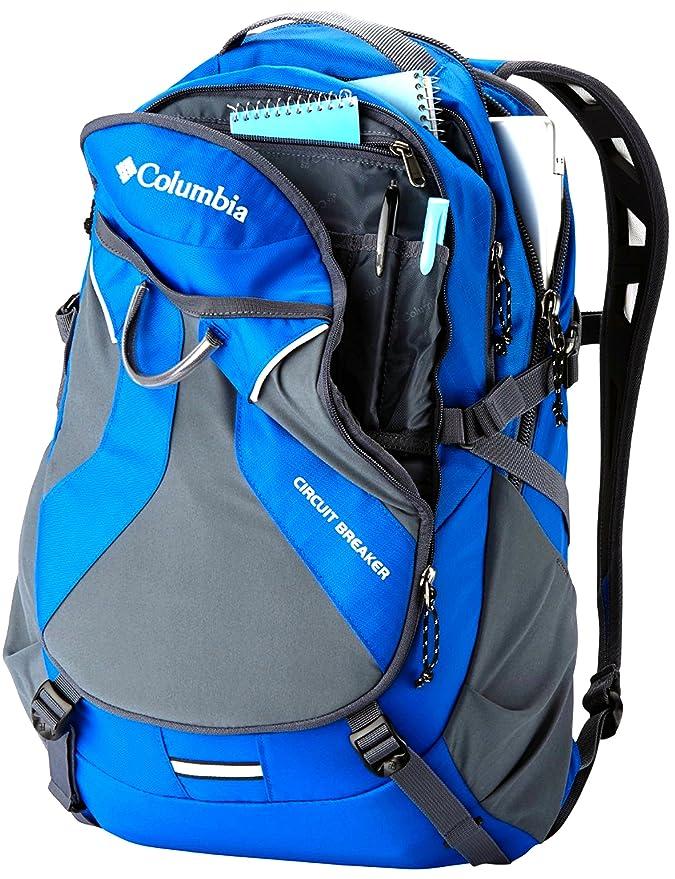 Columbia Mochila con interruptor de circuito, mochila de viaje LAVTOP STUDENT BAG BLUE: Amazon.es: Informática