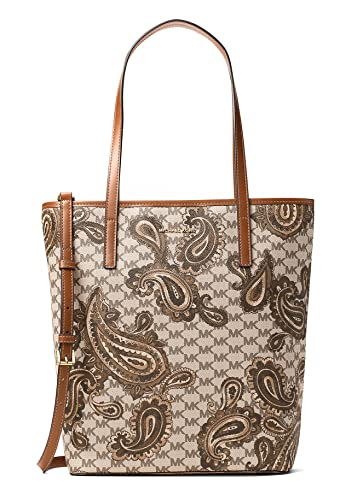 2cba7cceb4e29e Image Unavailable. Image not available for. Color: MICHAEL KORS STUDIO Emry  Large North/South Heritage Paisley Tote