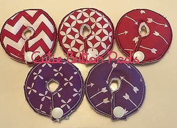 5ff0c4d463 Amazon.com  Cutie Button Pads G j Tube Pad 5 Pack (Pink   Purple)  Baby