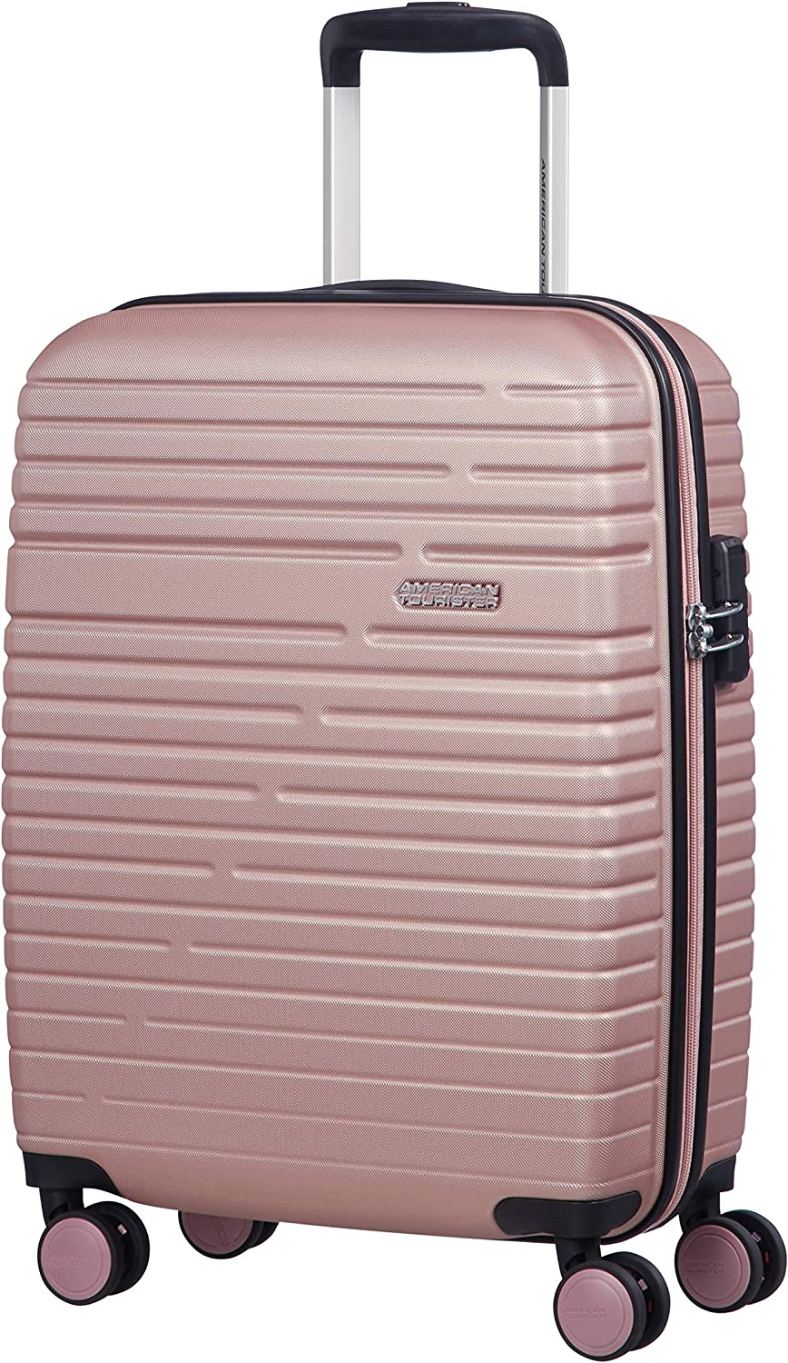American Tourister Aero Racer Spinner 55 - 2,5 Kg Equipaje de mano, 37 liters, Rosa (Rose Pink)
