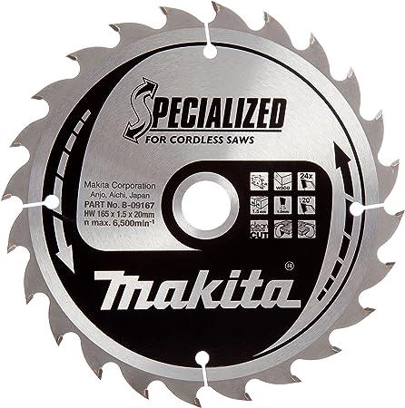 4 x DeWalt Cordless Saw Blade 165 mm X 20 mm X 40 Teeth For Makita BSS610 BSS611
