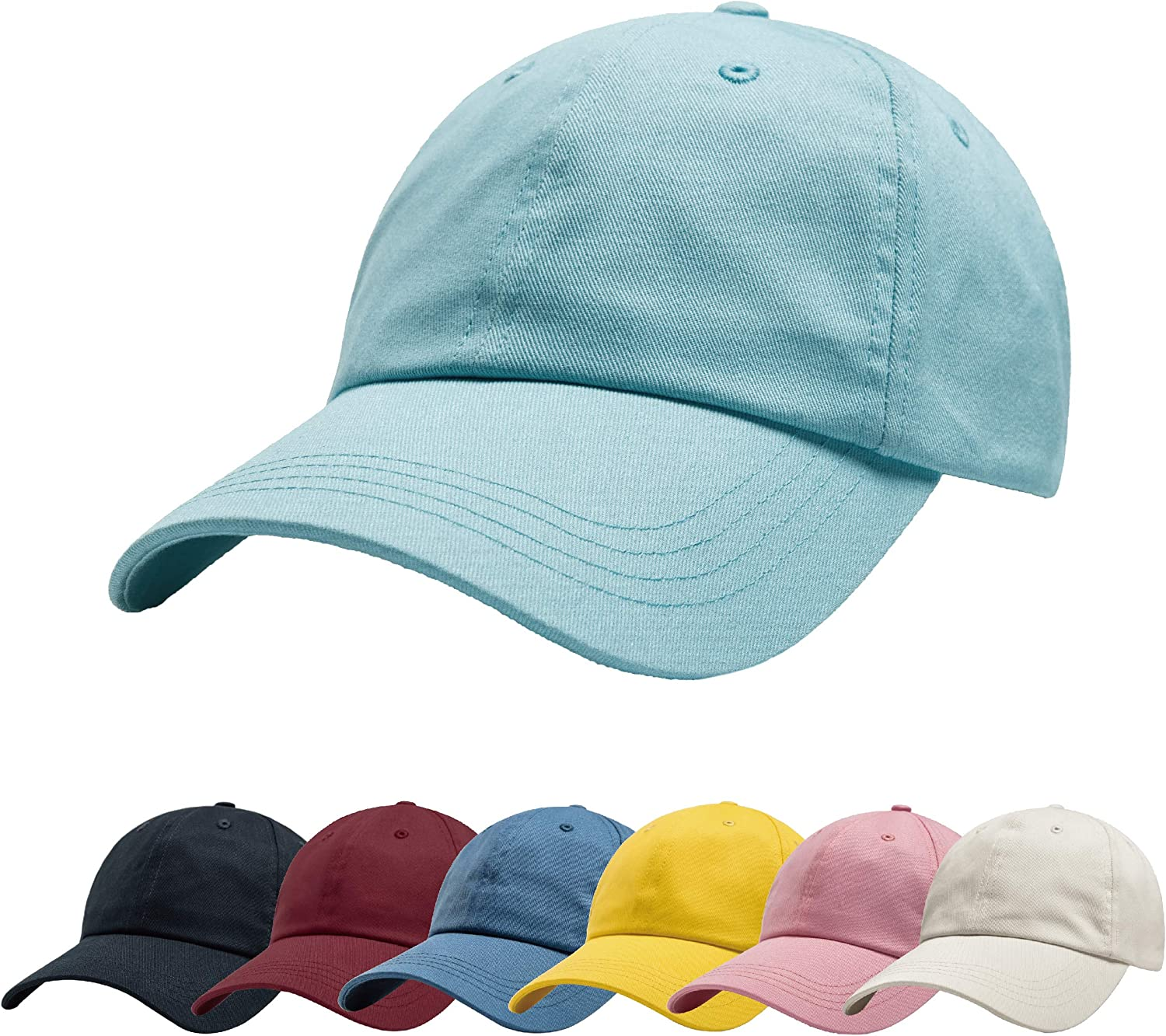 Memorial Day Outdoor Dad Hat Adjustable Washed Denim Baseball Cap Polo Style