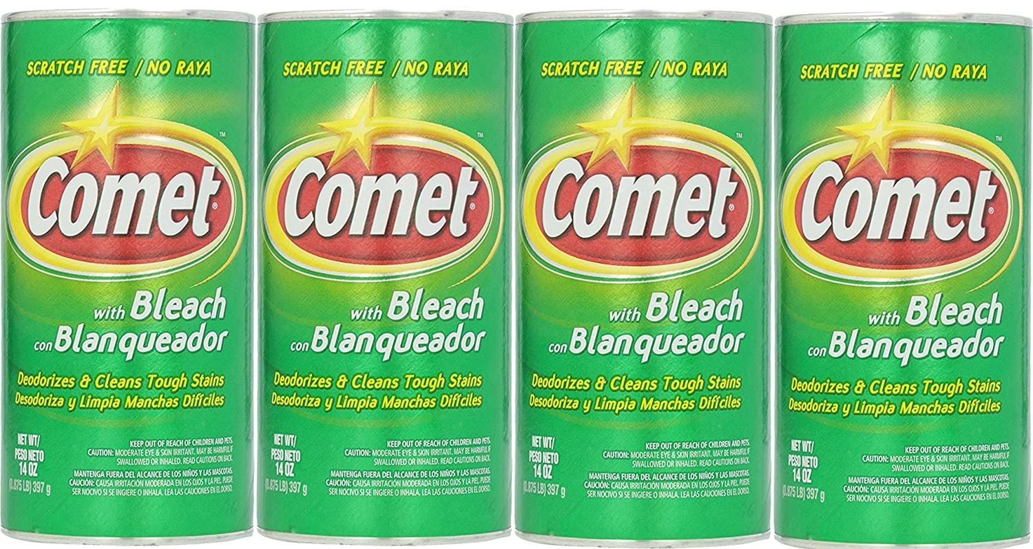 Amazon.com: Comet All Purpose Cleanser Powder With Bleach, 14 Ounce (Pack of 4): Home & Kitchen