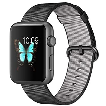 "Apple Watch Sport 1.5"" OLED Gris Reloj Inteligente - Relojes Inteligentes (3,81"