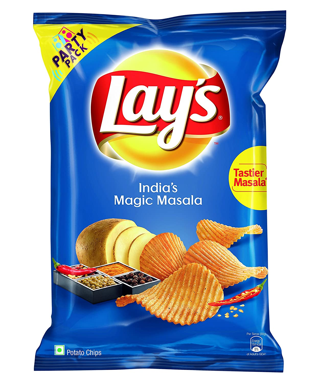 Lays Magic Masala Party Pack 177g Amazon Grocery Gourmet Foods