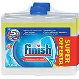 Finish  Curalavastoviglie Additivo Lavastoviglie, Limone,  2 confezioni da 250 ml