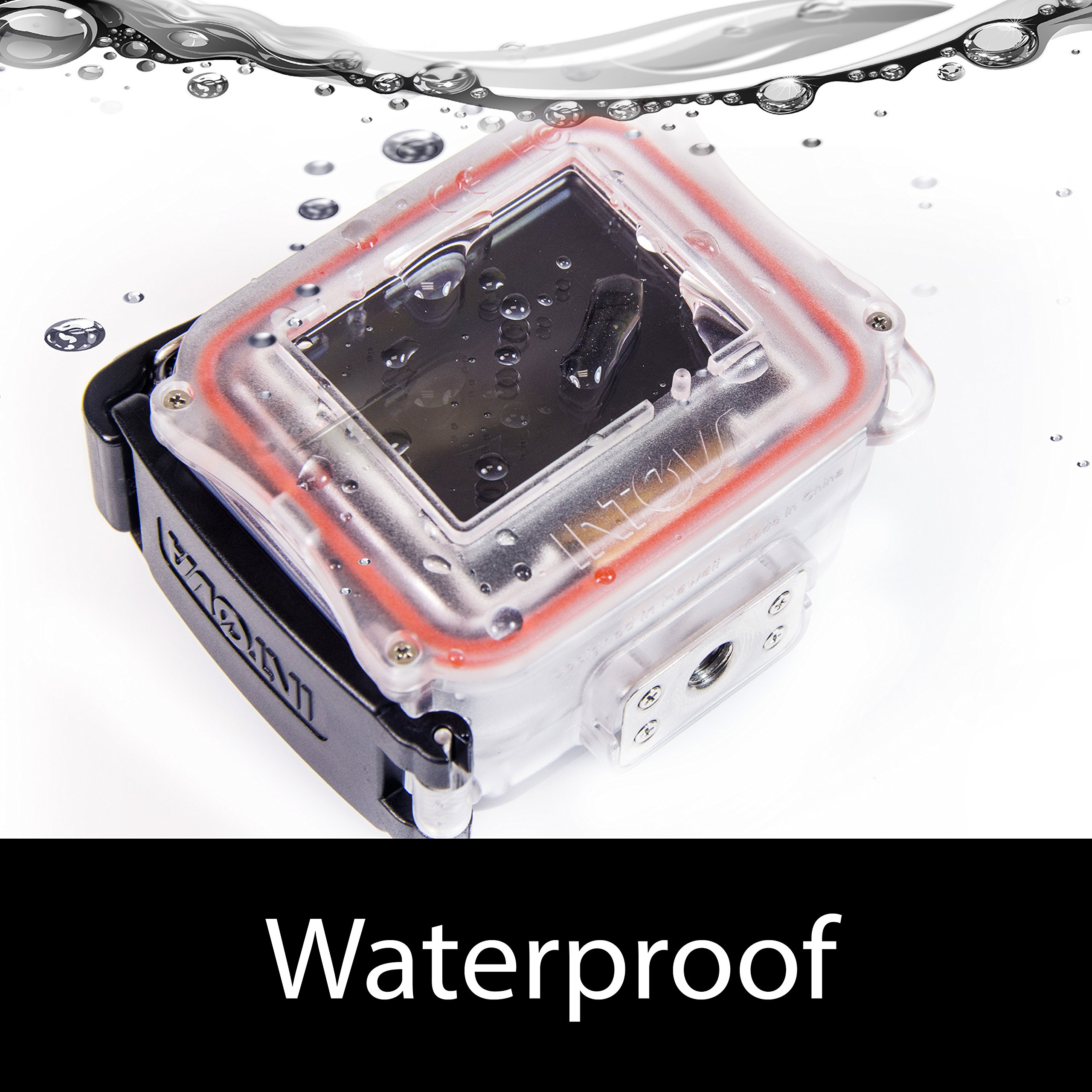 Intova HD2 Waterproof 8MP Action Camera with Built-in 150-Lumen Light and Remote Control by Intova (Image #2)