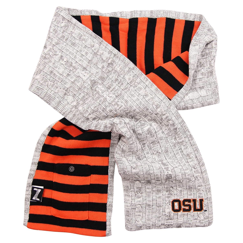 Zoozats Adult NCAA Quality Knit Scarf