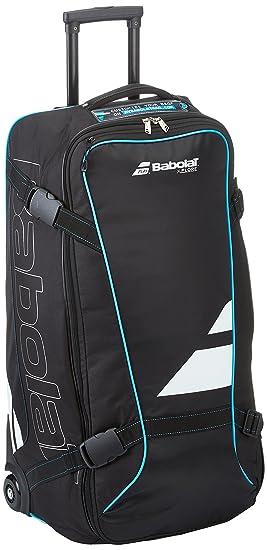 Babolat TRAVEL BAG XPLORE Wheeled suitcase - Black - (Negro Azul ... a3585b3a27599