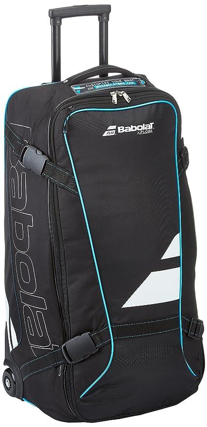 3863d653c23c Amazon.com   Babolat-Xplore Travel Tennis Bag Black and Blue ...