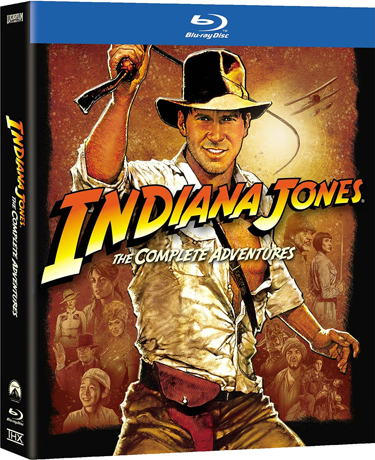 Indiana Jones: The Complete Adventures [Blu-ray] (Bilingual) Harrison Ford Karen Allen Sean Connery Shia LaBeouf