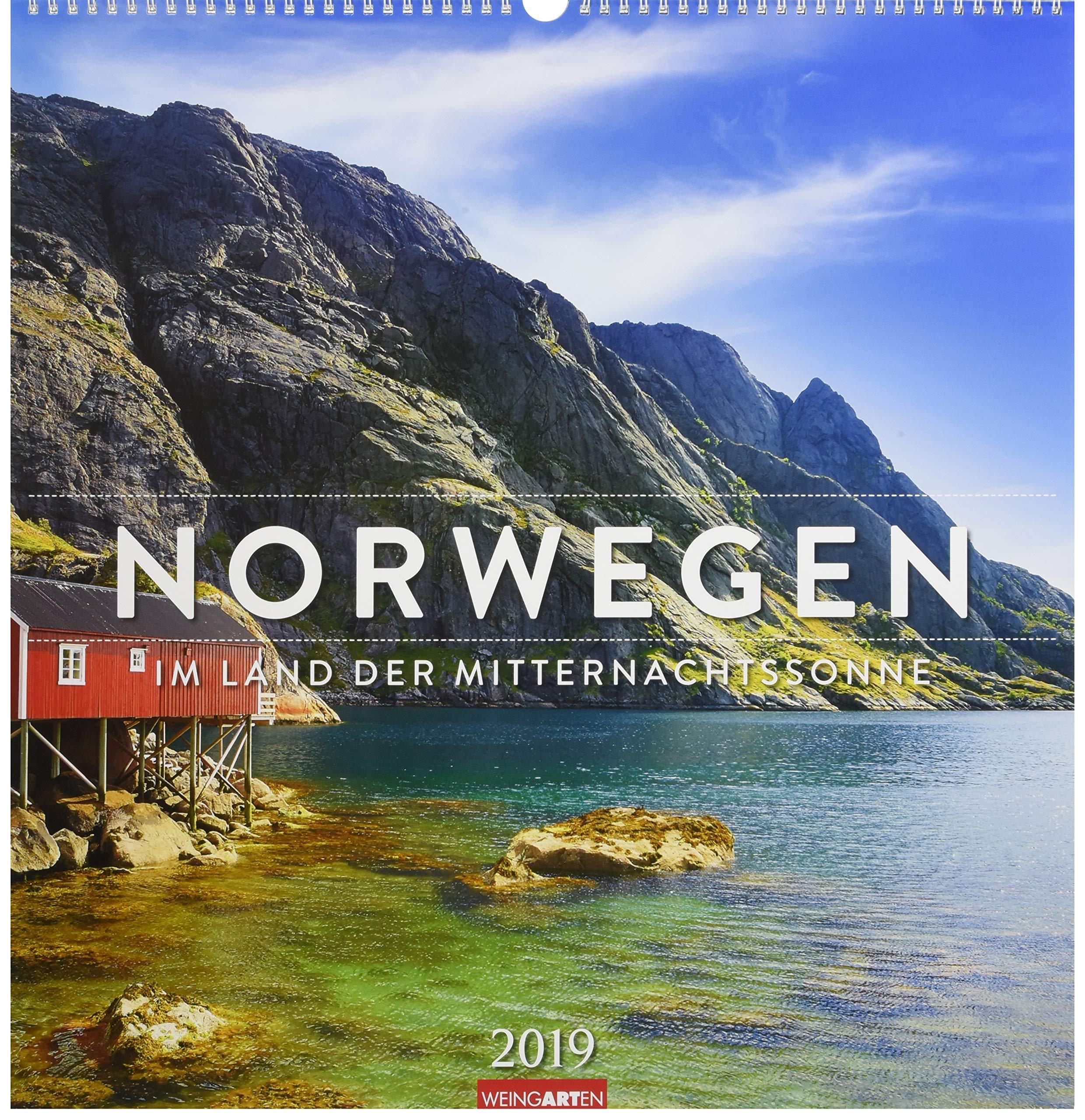 Norwegen - Kalender 2019: Im Land der Mitternachtssonne
