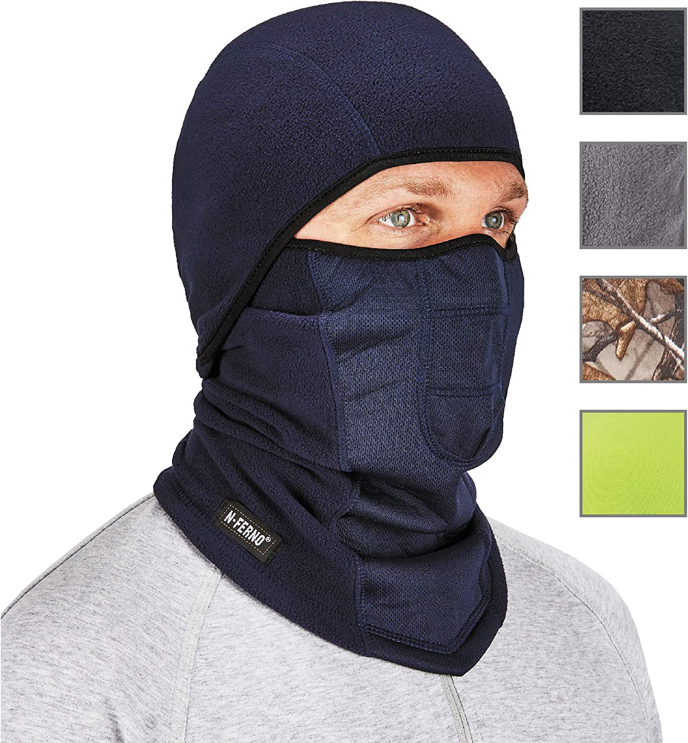Wind-Resistant Face Mask/& Neck Gaiter,Balaclava Ski Masks,Breathable Tactical Hood,Windproof Face Warmer for Running,Motorcycling,Hiking-Ocean Blue and Green Mermaid Glamour Marble