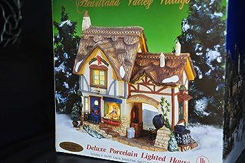 NEW Replacement Christmas Village Porcelain House 7 Watt Bulb Fused Plug