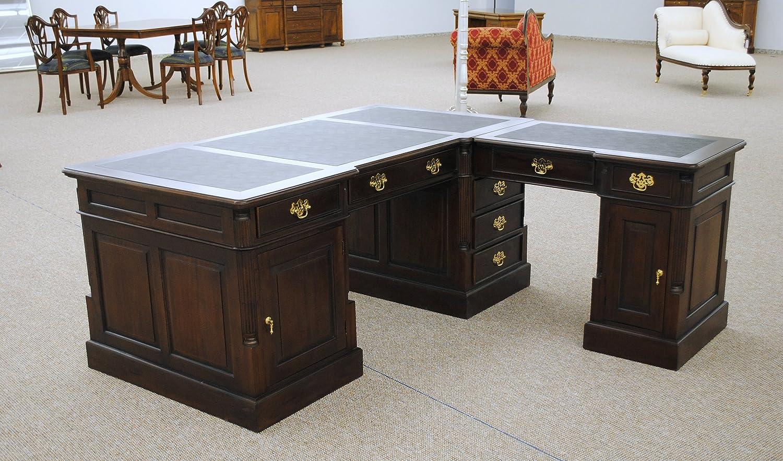 Empire Sekretär Schreibtisch Partner Desk Doppel Partner Desk ...