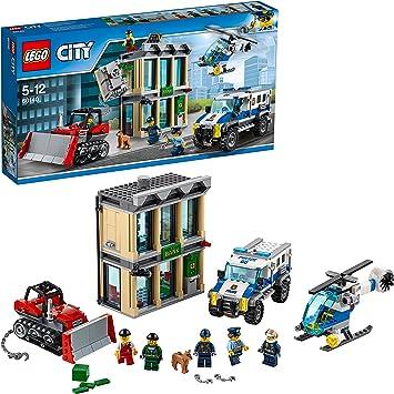 Hubschrauber Lego® City Polizei Helikopter Heli aus Bankraub Set 60140  NEU
