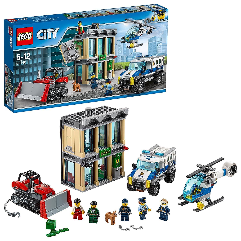 De Banque Lego Jeu City Le 60140 Cambriolage La Construction n8PN0kXZwO