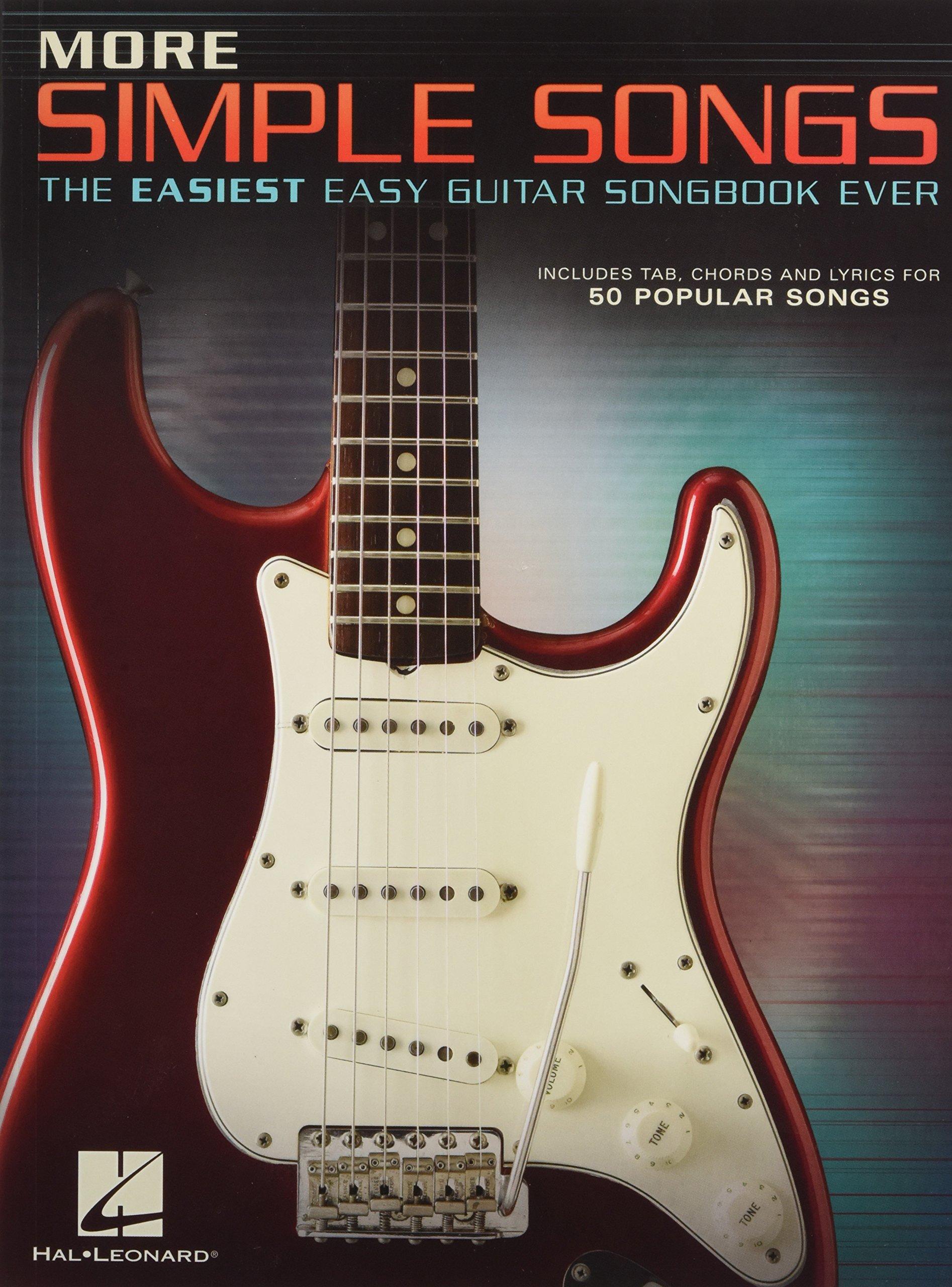 More Simple Songs The Easiest Easy Guitar Songbook Ever Hal