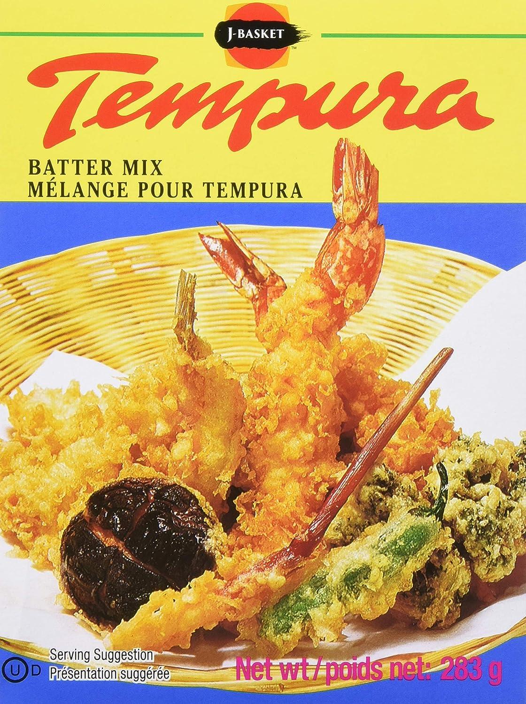 Amazon Com Hime Tempura Batter Mix 10 Ounce Boxes Pack Of 12 Tempura Coatings Grocery Gourmet Food