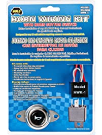 Wolo HWK-1 Horn Wiring Kit with Horn Switch