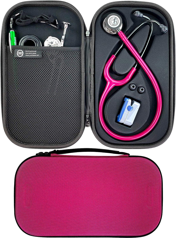 Pod Technical Cardiopod II - Funda para estetoscopios Littmann, color rosa